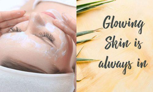 Glowing skin treatment